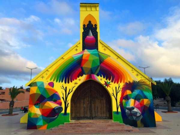 Igreja de Okuda em Marrocos