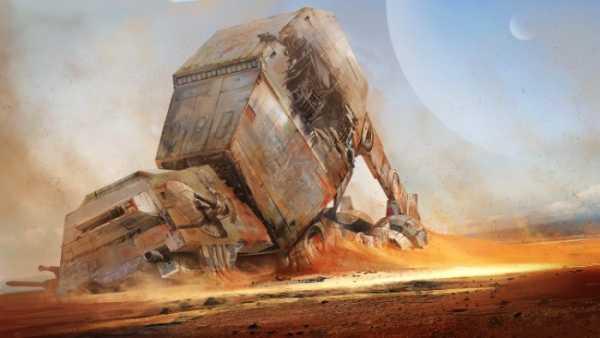 Tysen Johnson: Ilustrando Star Wars