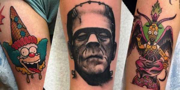 As Tatuagens e Ilustrações de Christina Hock