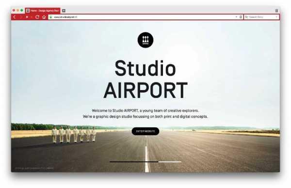 O Portfólio de Design Gráfico do Studio Airport