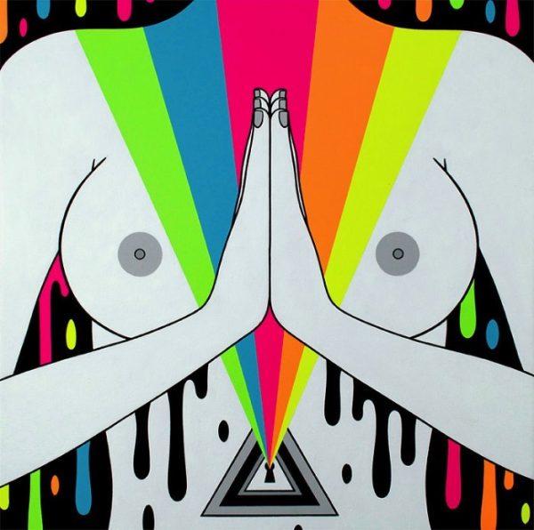 A Arte Lisérgica de Oliver Hibert
