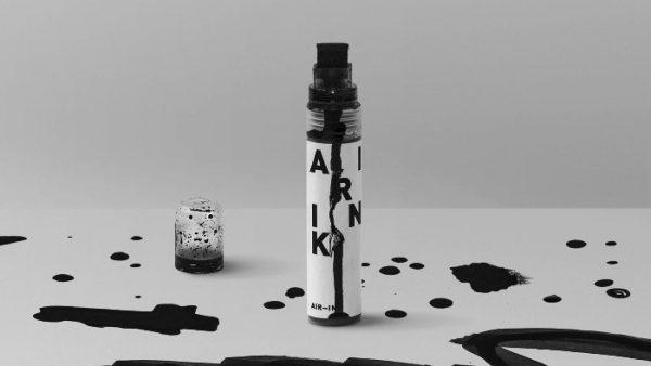 Criando tinta de caneta com poluição