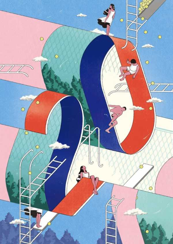 Os Posters Ilustrados de Jee-ook Choi
