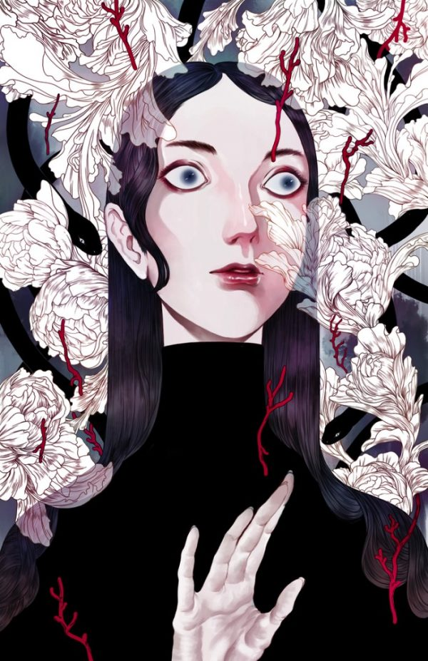 A Estética Japonesa das Ilustrações de Ha Gyung-Lee