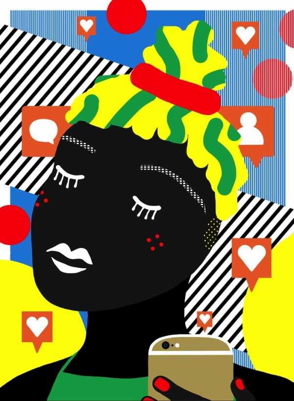 O mundo ilustrado cheio de cores de Ana Jaks