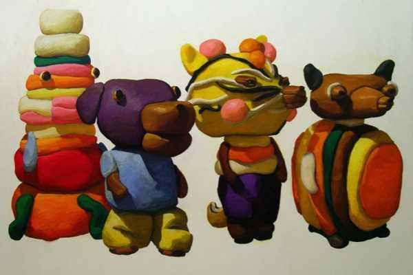 As Pinturas de Massinha de Peter Opheim
