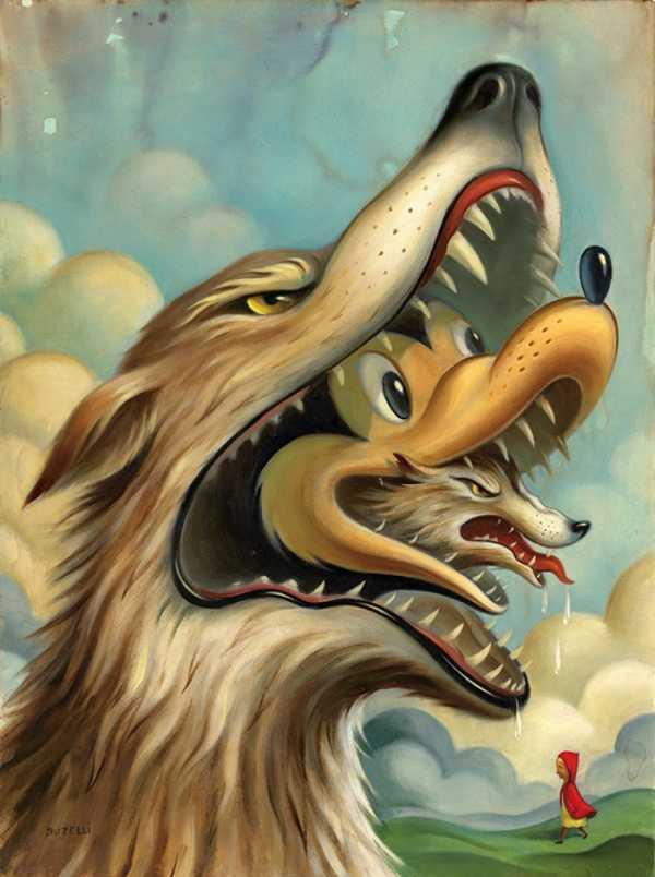 As Ilustrações e as Pinturas de Chris Buzelli