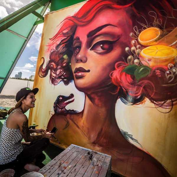 Tatiana Suarez: Surrealismo em Murais e Pinturas