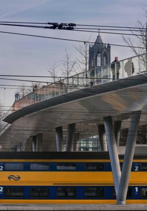 A Ponte Moreelse é uma criação da Cepezed em Utrecht