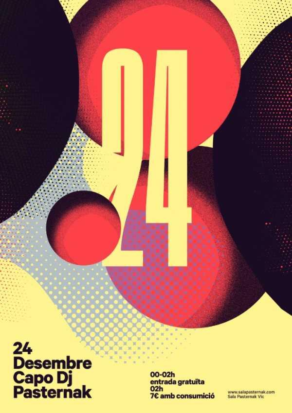 Repleto de posters para eventos de música, o portfólio de Quim Marin é fenomenal