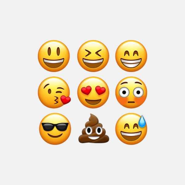 Uma Lista de Emojis em Vetor para Download Gratuito