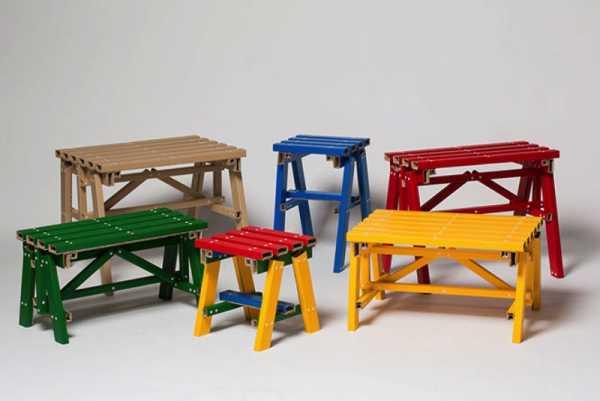 Lumber Table é uma Mesa de Papelão que mais parece feita de Madeira