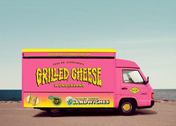 Grilled Cheese Wonderland pelo pessoal do We Are Büro Büro