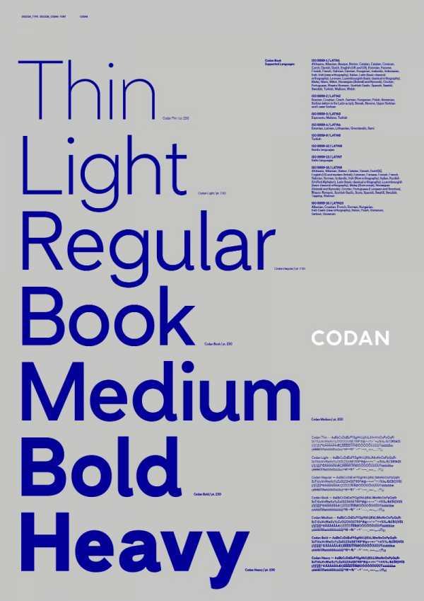 Criando a tipografia personalizada da Codan com a Bold de Copenhague