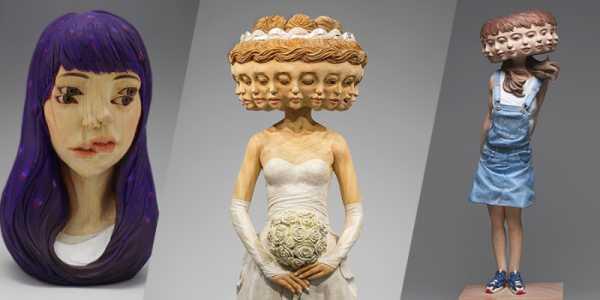 Yoshitoshi Kanemaki e suas esculturas cheias de Glitch