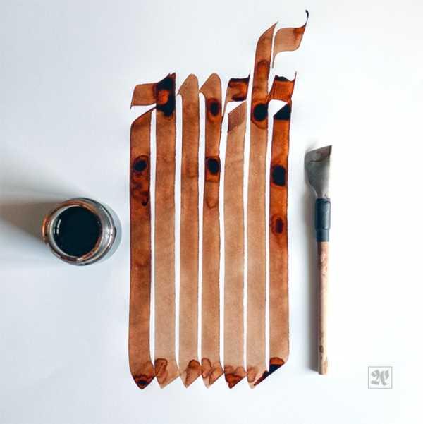 A Caligrafia e o Lettering de Erik Neue, direto de Tenerife