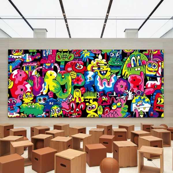 Conhecendo um pouco mais da arte de Jon Burgerman