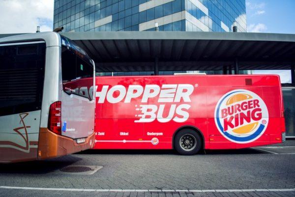 Uma Linha de Ônibus que te leva até o único Burger King em Bruxelas