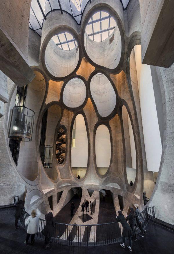 Zeitz Museum of Contemporary Art Africa é a construção mais tubular de Thomas Heatherwick