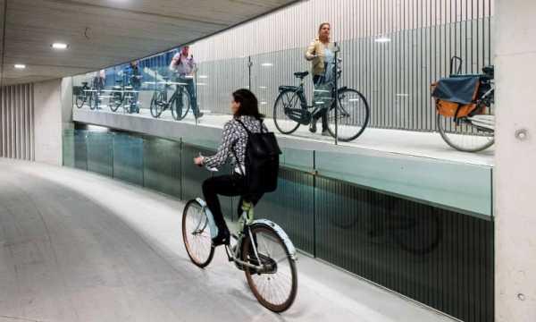 Como Utretch está construindo o maior Estacionamento de Bicicletas do Mundo