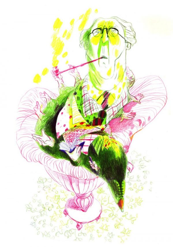 As Ilustrações de Ksenia Kopalova
