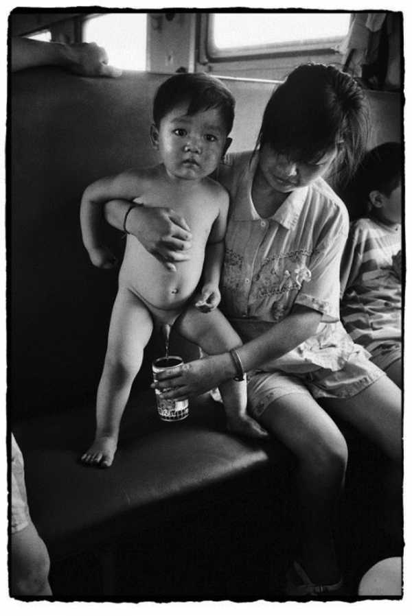Wang Fuchun documenta a vida dos chineses nos trens do país