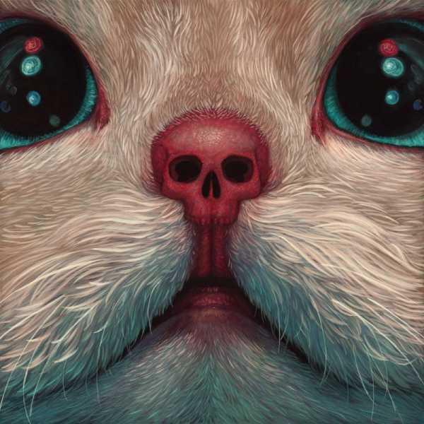O Mundo Repleto de Pinturas de Gatos de Casey Weldon