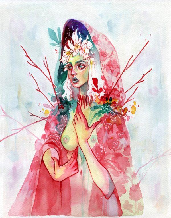 As Ilustrações e a Arte de Audra Auclair