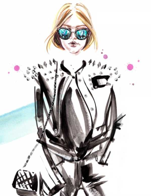 As Ilustrações de Moda de Meagan Morrison