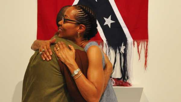 As Bandeiras Confederadas de Sonya Clark