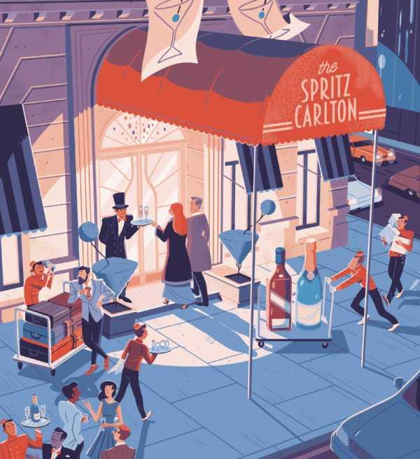 As Brilhantes Ilustrações de Steve Scott