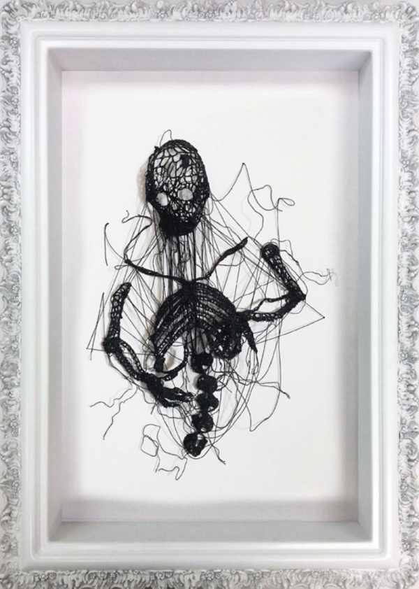 As Esculturas de Crochê de Caitlin McCormack