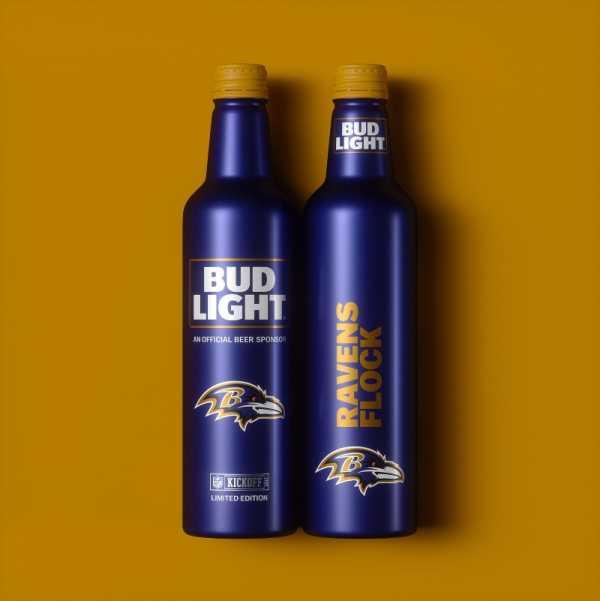 Garrafas de Cerveja Especiais para Fãs de Futebol Americano por Jones Knowles Ritchie