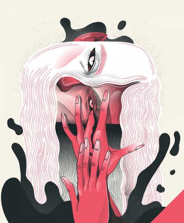 Toda Beleza das Ilustrações de Iza Dudzik