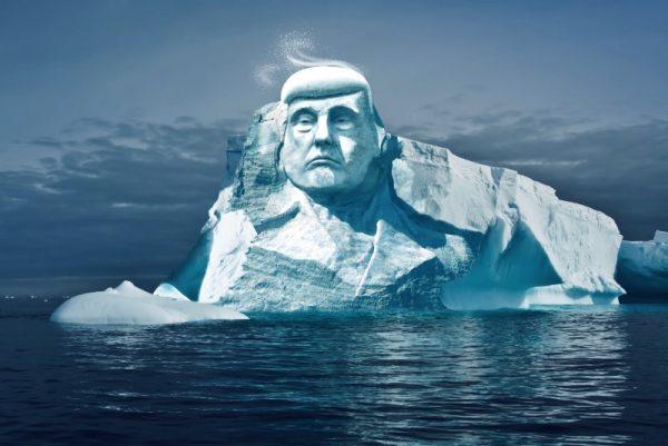 #ProjectTrumpmore: Como Ativistas estão planejando uma escultura de Donald Trump com 35 metros de puro gelo
