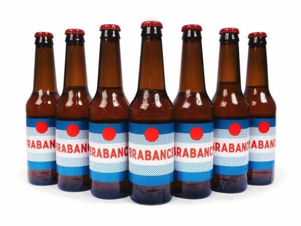 Brabance é uma cerveja belga com um design bem especial