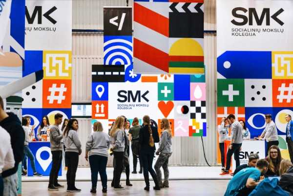 Como o Andstudio criou a identidade visual da SMK da Lituânia