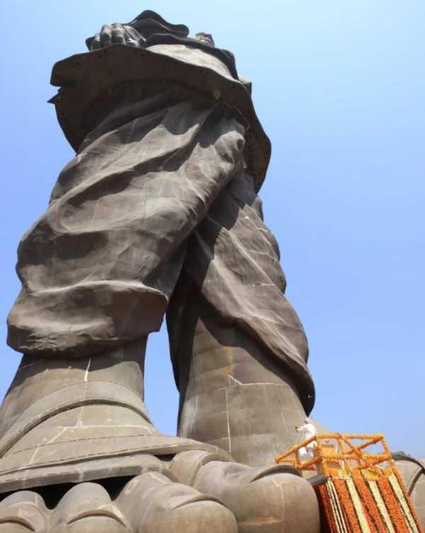 A Maior Estátua do Mundo foi Inaugurada na Índia