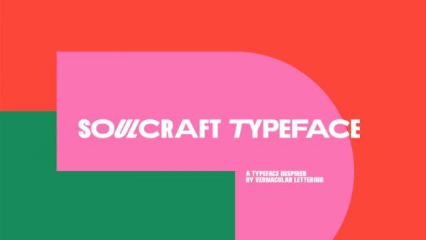 Soulcraft Typeface: A Mais Nova Fonte do Massimo Studio