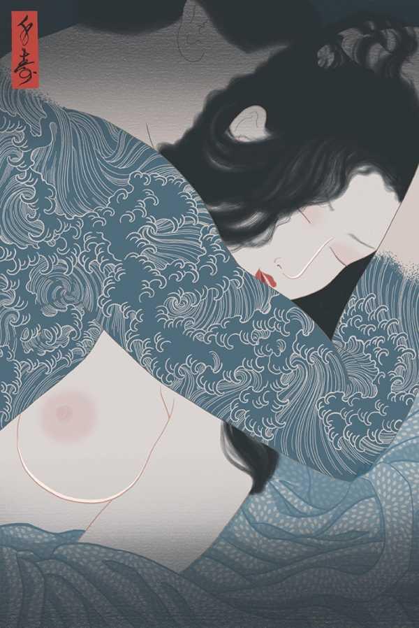A Arte Erótica de Senju Horimatsu