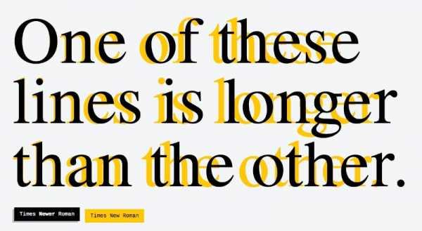 Times Newer Roman: Uma Fonte feita para parecer que você escreveu muito