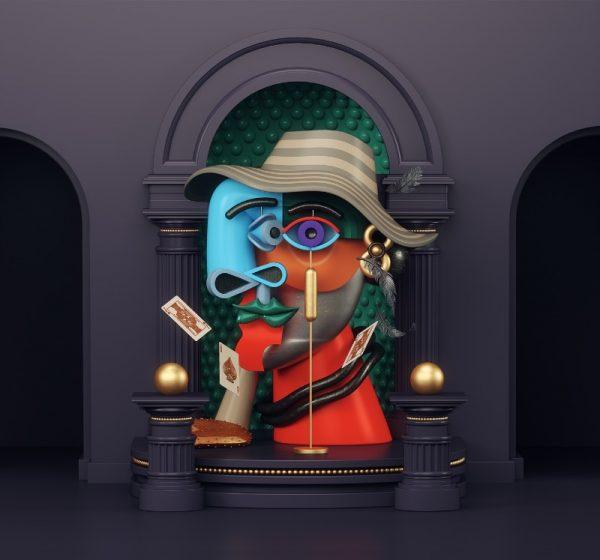 Recriando Pablo Picasso em 3D com Omar Aqil