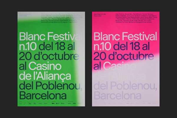 Criando a Identidade Visual do Blanc Festival n.10