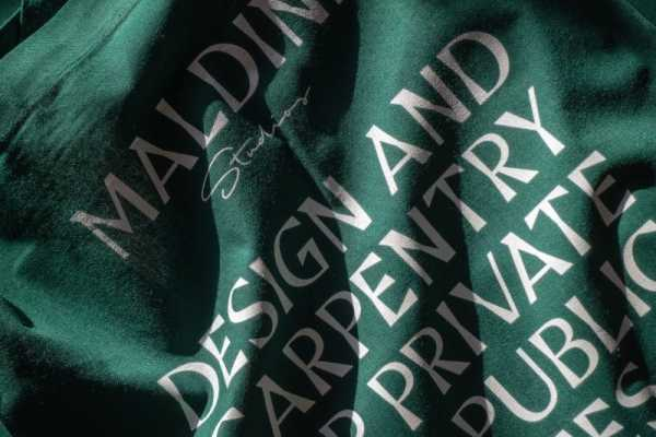 Maldini Studios: Uma Identidade Visual de Carpintaria e Design de Interiores