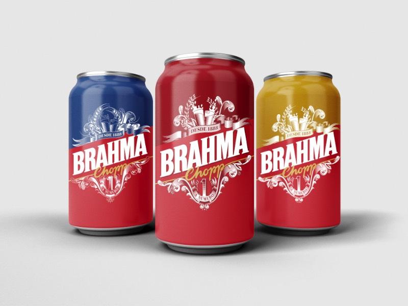 Em 2016, Jackson Alves trabalhou em um projeto de lettering e de design de embalagens para a cerveja Brahma. A ideia era a de criar uma nova embalagem para a cerveja, uma embalagem que misturasse um estilo de lettering e caligrafia único mas… Parece que o projeto não deu certo e acabou sendo arquivado.