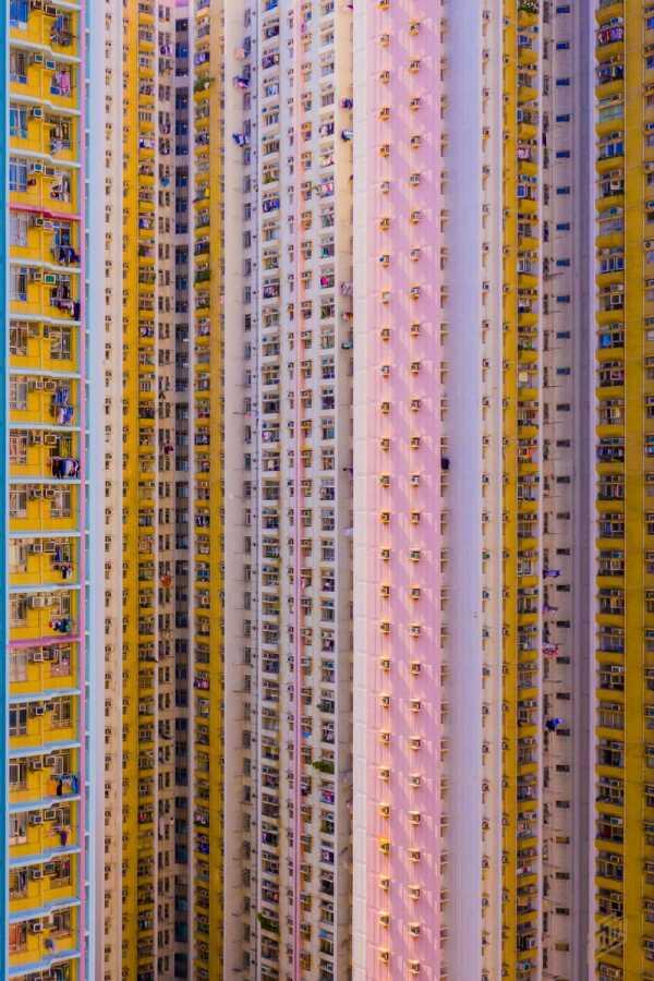 Os Blocos de Apartamento de Hong Kong na fotografia de Toby Harriman