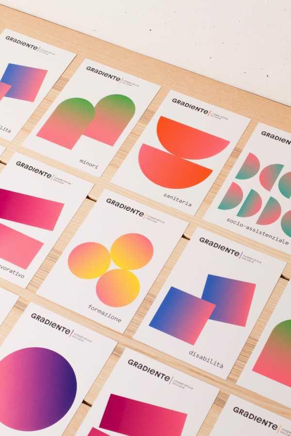 Gradiente, Uma Cooperativa Social no design do Mezzopieno Studio