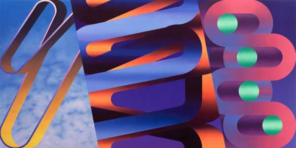 Dan Perkins e suas Pinturas Geométricas