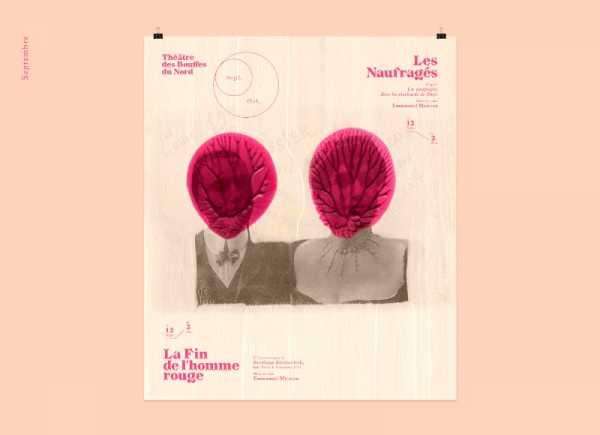 Théâtre des Bouffes Du Nord 19-20 no design do Violaine & Jeremy