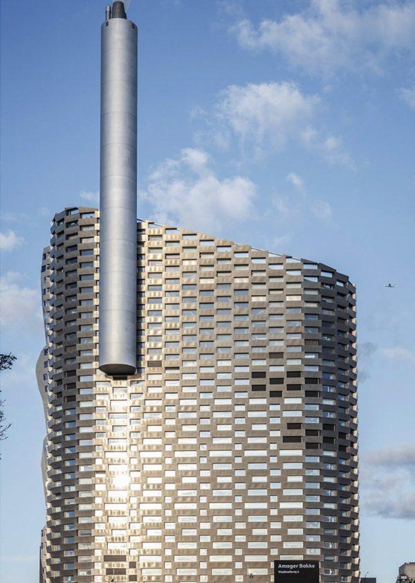 CopenHill – Uma Mistura de Usina de Energia com Pista de Esqui na capital da Dinamarca